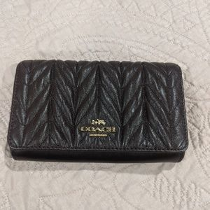 Coach Quilted Wallet